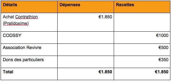 Budget final médicaments