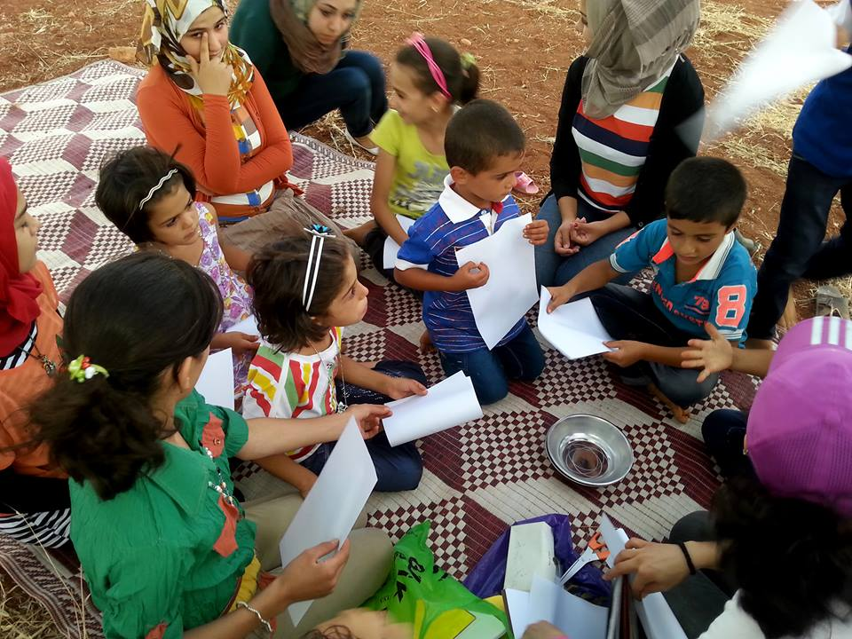 La Caravane Magique : Théâtre pour les enfants, Syrie
