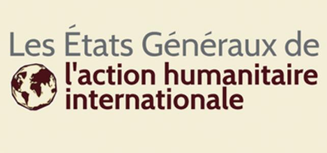 Codssy participe aux Etats généraux de l'action humanitaire internationale