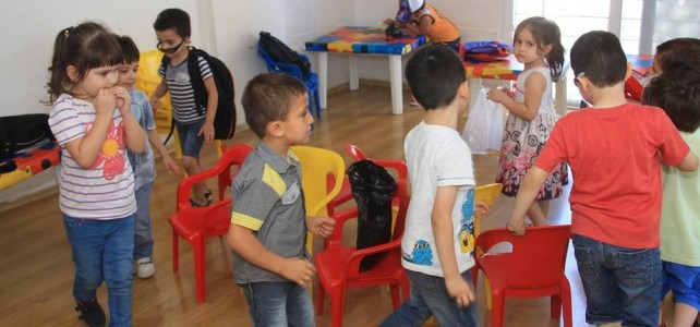 Ecole maternelle à Mersin en Turquie