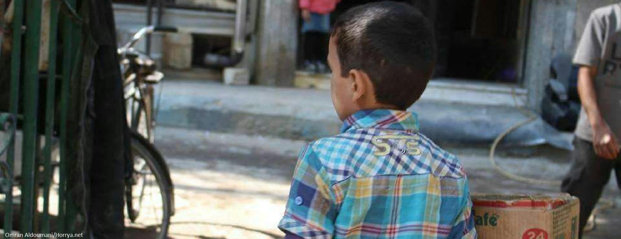 Aidons les familles de la Ghouta orientale
