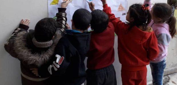 """""""Nous sommes l'avenir"""": projet d'éducation et d'enseignement (Banlieue Sud de Sahnaya)"""